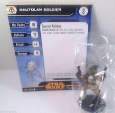 Star Wars Revenge of the Sith 49/60 Nautolan Soldier (C) Miniature