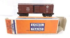 Lionel Trains Postwar X6454 Erie Boxcar With Box O Scale