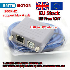 EU + UK RTM200 200KHz USB A PARALLELO LPT Adattatore Convertitore Video per MACH 3 CNC Router
