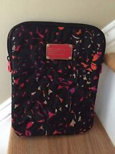 Marc Jacobs WorkWear Ipad Soft Fabric Top Zipper Case - EUC