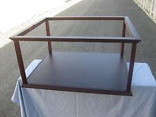 Vitrine 60 x 50 x 26 cm Innenmaß, Mit Plexiglas, ohne Modell