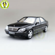 1/18 Benz S600 1998 S CLASS W220 Norev Diecast Model Toys Car Boys Gifts Black