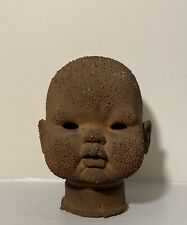 Vintage Uneeda Co.Inc. 1962 Brookline Ny Factory Metal Doll Head Mold Signed