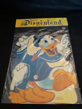 Vintage Dennison Disney Land Party Decorations Donald, Daisy, Ludwig cut outs