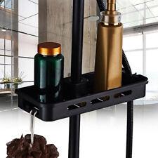 Bathroom Pole Shelf Shower Bath Storage Caddy Rack Organiser Hollow Holder  G Y
