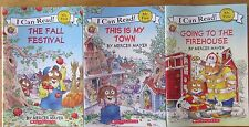 Mercer Mayer's Little Critters I Can Read! Lot of 3 My First Shared Reading