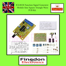 ICL8038 Function Signal Generator Module Sine Square Triangle Wave Kit UK Seller