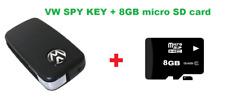 VW Car Key Spy Camera Keychain Video DVR Keyring Camcorder + 8GB memory card