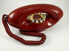 Vintage 1970's Genie American Telecommunications Red Phone Model TMBF8300 EX
