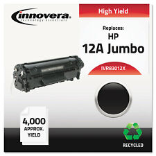 Innovera Remanufactured Q2612X (12AJ) Extra High-Yield Toner Black 83012X