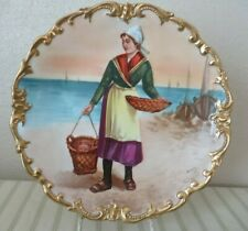 OUTSTANDING HAND PAINTED LIMOGES PORCELAIN MADE IN FRANCE