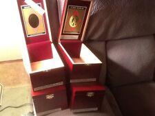 CAO GOLD WOOD CIGAR BOX LOT QTY 4