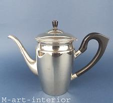 Jugendstil WMF Kanne versilbert mit Holzgriff Silver Plate Pot Art Nouveau 1909