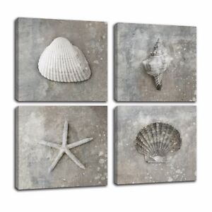 Modern Canvas Art Prints Shell Canvas Oil Painting Wall Art Picture No Frame