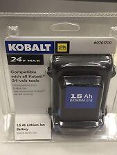 Kobalt 24-Volt Max 1.5-Amp Li-Ion Hours Lithium Brushless Power Tool Battery