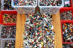 LEGO - 500g (1/2Kg) Mixed LEGO Bricks Plates City Star Wars Technic - Bundle