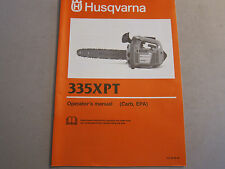 OEM Husqvarna 335XPT Carb Chain Saw Operator's Manual LOTS More Listed Chainsaw