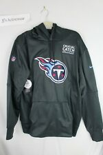 NWT NIKE TENNESSEE TITANS Therma Crucial Catch Onfield Mens Pullover Hoodie XL