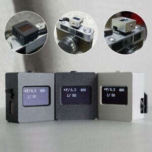V-201X Metal Photography Set-top Reflection Light Meter Hot&Cold Shoe Fix OLED