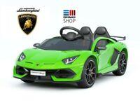 Auto Macchina Elettrica per Bambini 12V Lamborghini Aventador  SV 12v NEW 2020