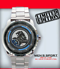 New Limited Edition Holden Car  Logo Emblem Unisex Sport Metal Wristwatch 1
