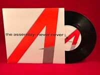 "THE ASSEMBLY Never Never 1983 UK 7"" vinyl single EXCELLENT CONDITION A"