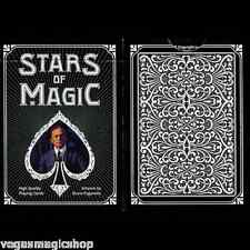 Stars of Magic Black Deck Playing Cards Poker Size USPCC Limited Edition Sealed