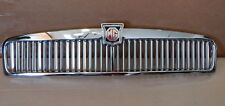 New Metal Chrome Plated Metal MG MGB Front Grille Assembly 1963-74 Tasker Brand