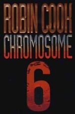 Chromosome 6 by Robin Cook (1997, Hardcover) New Free Shipping