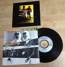 45 tours PIERROT LE FOU Le seul slow -avec encart promo new-wave 1981 EXC
