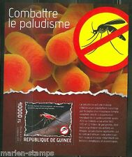 GUINEA 2014 ANTI MALARIA CAMPAIGN  SOUVENIR SHEET  MINT NH