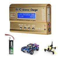 B6 V2 80W Lion/LiPo/LiFe/LiHV/NiCd/NiMH for Drone 2s-6s Akku Balance Ladegerät