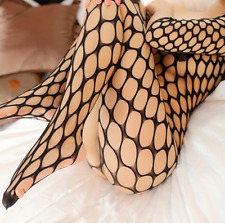 Bed Play Sexy Women Hollow out Bodystocking Fishnet Lingerie Underwear Size 6-12