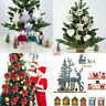 2020 Collection Christmas Decorations Baubles Stars Cones Hearts Tree Topper