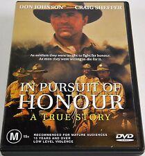In Pursuit of Honour A True Story PAL 4 (Non US)