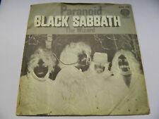 "BLACK SABBATH - Paranoid / The Wizzard - Vertigo Squirl- 7"" Single 6059010"