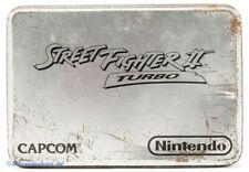 SNES - Street Fighter 2 Turbo #Limited Metal Tin Box Edition mit OVP / Big Box