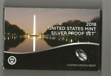 2018 s 10-piece silver proof set