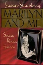 MARILYN AND ME: Sisters, Rivals, Friends SIGNED by Author SUSAN STRASBERG 1992