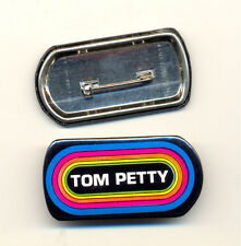 TOM PETTY KLOS 95.5 Promo Vintage Button Pin Pinback Badge NEW Original!!!