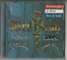 """ British Steel"" CD 1998 NEU & OVP -  SAMSON/GIRLSCHOOL/ANGEL WITCH/TANK"