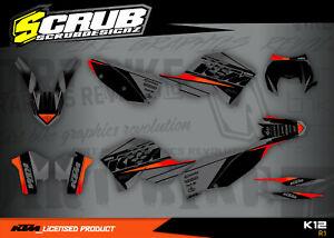 KTM graphics EXC 125 200 250 300 400 450 530 2008 2009 2010 2011 '08 '09 '10 '11