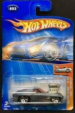 Hot Wheels 2004 FIRST EDITIONS #93 'Tooned 1963 CORVETTE #93 (Gray) - Diecast