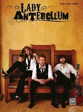 Lady Antebellum Piano Vocal Chords Songbook