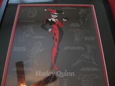 Batman Animated Series Btas Harley Quinn Model Sheet Limited Edition Cel 346/500