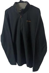 NEW SIMMS Waderwick Microfiber Thermal  Fleece 1/2 Zip Pullover Men's XL NWOT