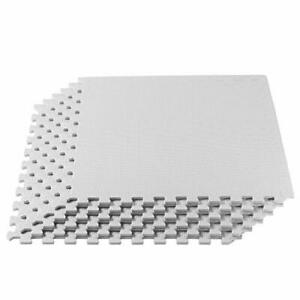 We Sell Mats 3/8 Inch Thick Multipurpose Exercise Floor Mat with EVA Foam Int...