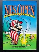 NES Open Tournament Golf 🔥 NES Nintendo Manual Instruction Booklet