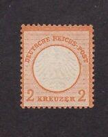 Germany stamp #8, MHNG, 1872, SCV $40
