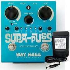 Way Huge Electronics Supa Puss Analog Delay WHE-707 w/ 9v power supply